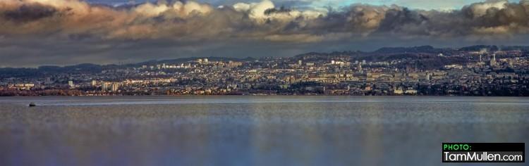 Lausanne from Évian-les-Bains