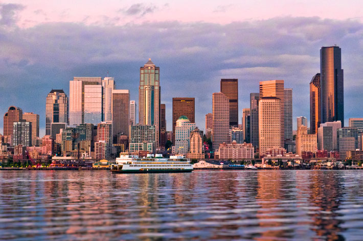 Seattle is amazing from my angle, especially from the water.