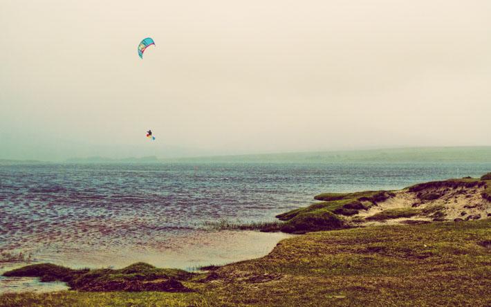 Keel Lough Kiteboarding Achill Mayo
