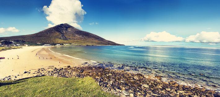 Doogort Beach Surf Achill Island Mayo